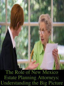 The Role of New Mexico Estate Planning Attorneys: Understanding the Big Picture